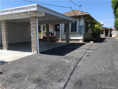 Honolulu HI Single Family Home For Sale: $1,200,000