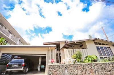 Honolulu HI Single Family Home For Sale: $1,350,000