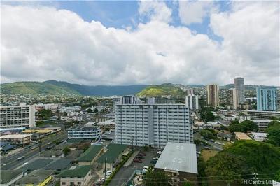 Honolulu Condo/Townhouse For Sale: 2474 Kapiolani Boulevard #1504