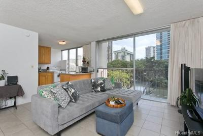 Honolulu Condo/Townhouse For Sale: 620 McCully Street #505