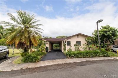 Kaneohe Single Family Home For Sale: 47-417c Kapehe Street