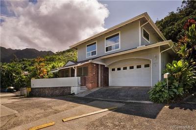 Honolulu HI Single Family Home For Sale: $1,195,000