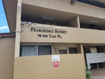 Aiea Condo/Townhouse For Sale: 98-080 Uao Place #B3