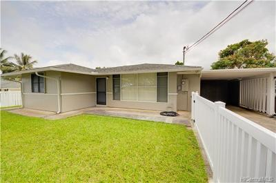 Single Family Home For Sale: 45-422 Koa Kahiko Street