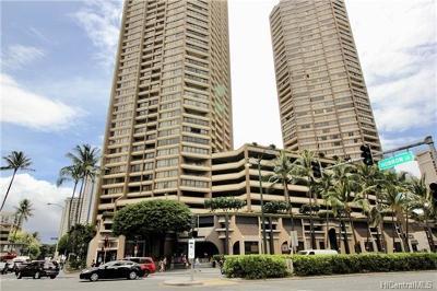 Honolulu Condo/Townhouse For Sale: 1778 Ala Moana Boulevard #1505