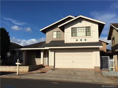 Waipahu Single Family Home In Escrow Showing: 94-1016 Pouhana Way #25