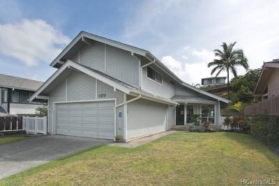 Single Family Home For Sale: 1479 Kanapuu Drive