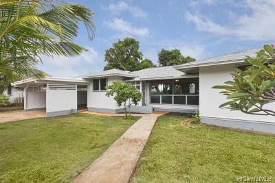 Waialua Single Family Home For Sale: 66-911 Kiekonea Way