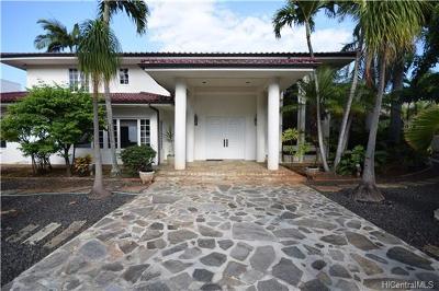 Honolulu HI Single Family Home For Sale: $2,780,000