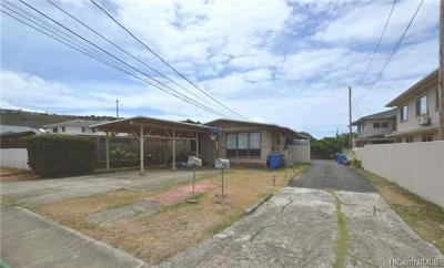 Honolulu Single Family Home For Sale: 1317 15th Avenue