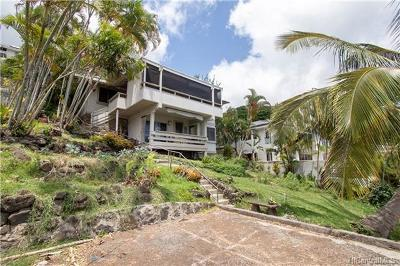 Honolulu Single Family Home For Sale: 2134 Mott Smith Drive