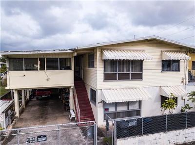 Honolulu HI Single Family Home For Sale: $1,700,000