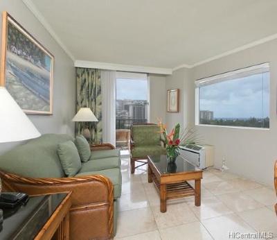 Honolulu Condo/Townhouse For Sale: 2045 Kalakaua Avenue #607