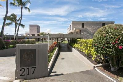 Honolulu Condo/Townhouse For Sale: 217 Prospect Street #C15