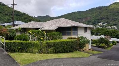 Honolulu Single Family Home For Sale: 2325 Palolo Avenue