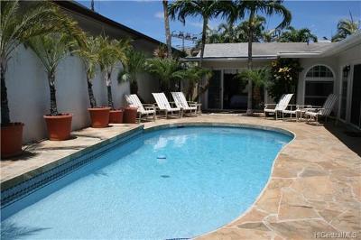 Hawaii County, Honolulu County Single Family Home For Sale: 916 Hunakai Street