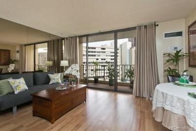 Honolulu Condo/Townhouse For Sale: 411 Hobron Lane #907