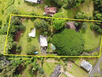 Honolulu County Single Family Home For Sale: 48-249 Waiahole Valley Road