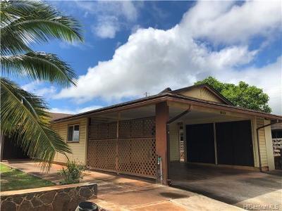 Waipahu Single Family Home For Sale: 94-113 Kauweke Place