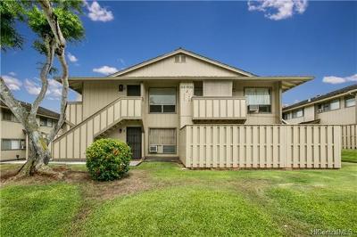 Waipahu Condo/Townhouse For Sale: 94-1139 Mopua Loop #J3