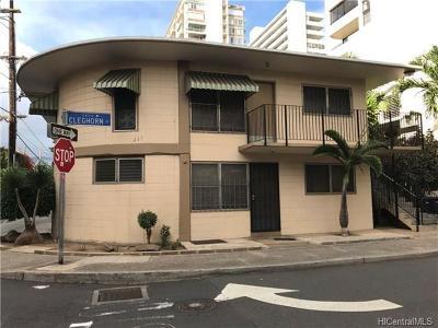 Honolulu County Condo/Townhouse For Sale: 235 Kaiulani Avenue