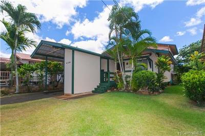 Waialua Single Family Home In Escrow Showing: 66-890 Paahihi Street