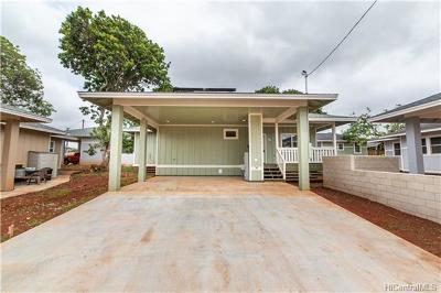 Wahiawa Single Family Home In Escrow Showing: 88 Ilima Street
