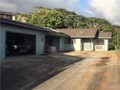 Aiea Single Family Home For Sale: 98-2043 Kipikua Street