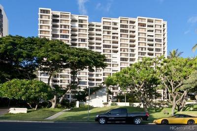 Honolulu County Condo/Townhouse In Escrow Showing: 6710 Hawaii Kai Drive #302