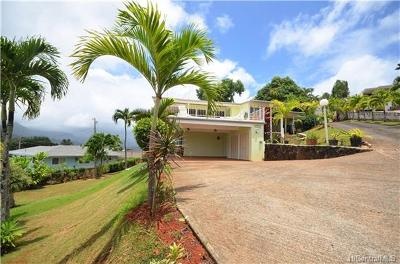 Kaneohe HI Single Family Home For Sale: $1,700,000