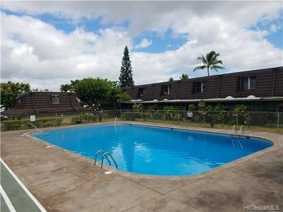 Aiea Condo/Townhouse For Sale: 98-259 Ualo Street #P6