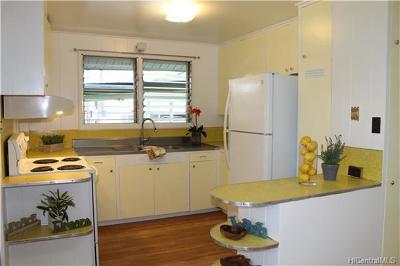 Wahiawa Single Family Home In Escrow Showing: 133 Uuku Street