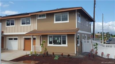 Waipahu Single Family Home For Sale: 94-470 Paiwa Street #35
