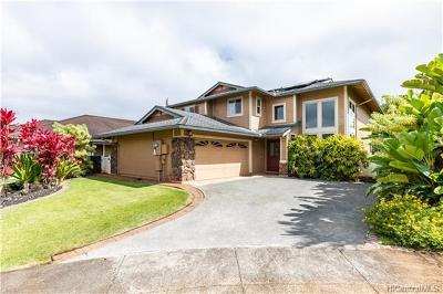 Mililani Single Family Home In Escrow Showing: 95-201 Halehaku Place
