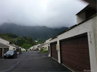 Kaneohe Condo/Townhouse For Sale: 47-161a Hui Alaiaha Place #A141