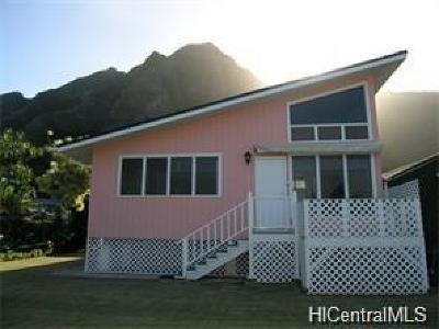 Kaaawa Single Family Home In Escrow Showing: 51-369 Hauhele Road