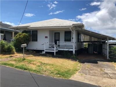 Aiea Single Family Home In Escrow Showing: 99-315 Pilikoa Street