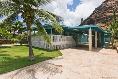 Waianae Single Family Home For Sale: 84-120 Makau Street