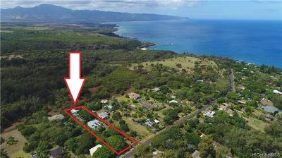 Haleiwa Single Family Home In Escrow Showing: 59-343 Pupukea Road