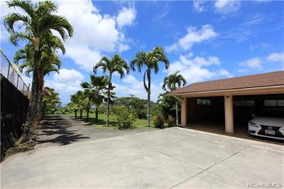 Aiea Single Family Home In Escrow Showing: 99-1614 Analio Place