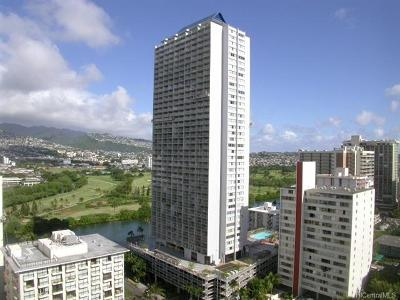 Hawaii County, Honolulu County Condo/Townhouse In Escrow Showing: 445 Seaside Avenue #2817