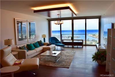 Honolulu County Condo/Townhouse For Sale: 1555 Kapiolani Boulevard #PH2101