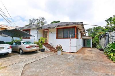 Wahiawa Single Family Home In Escrow Showing: 66 Koele Way