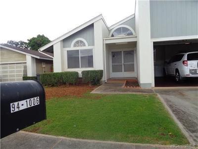 Waipahu Single Family Home For Sale: 94-1006 Heahea Street