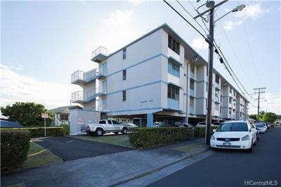 Honolulu Condo/Townhouse For Sale: 633 Nalanui Street #205