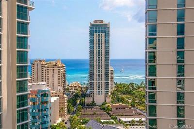 Honolulu County Condo/Townhouse For Sale: 2140 Kuhio Avenue #2407