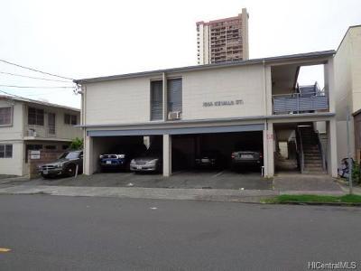 Honolulu County Rental For Rent: 1566 Kewalo Street #2B