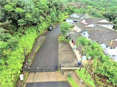 Kaneohe Single Family Home In Escrow Showing: 47-158 Lile Place