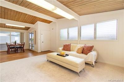 Pearl City Single Family Home In Escrow Showing: 1868 Hoolehua Street