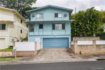 Pearl City Single Family Home In Escrow Showing: 2380 Akepa Street